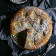 Easy Grilled Pineapple Ricotta Cake www.climbinggriermountain.com