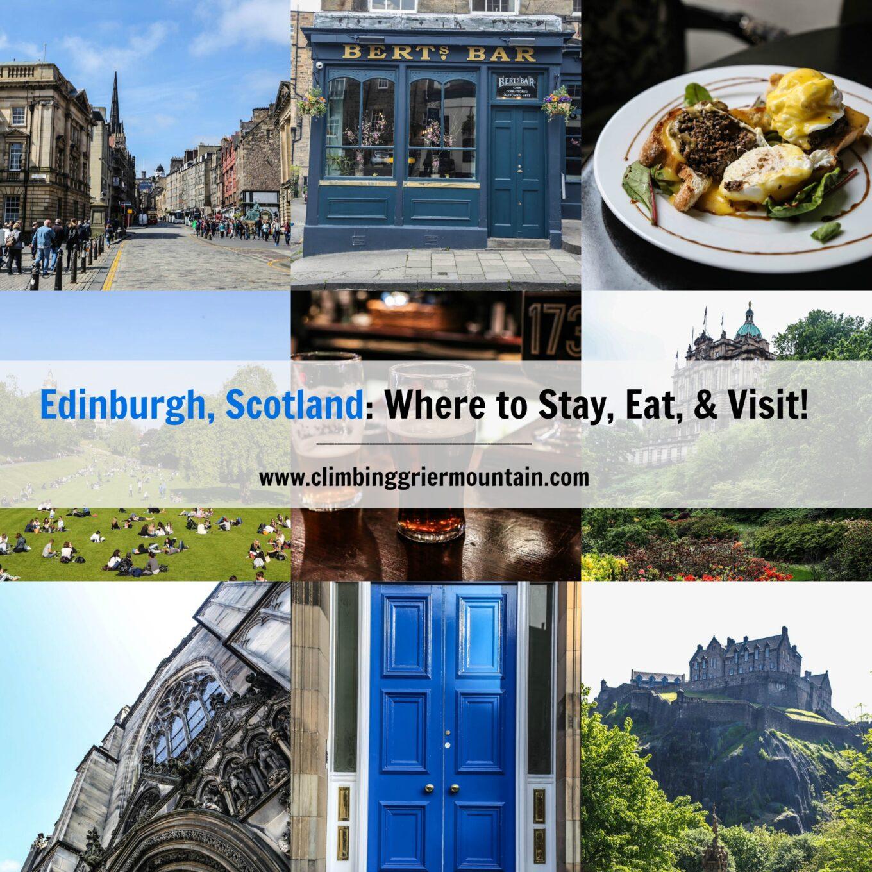 Edinburgh scotland where to stay eat visit for Travel to edinburgh scotland