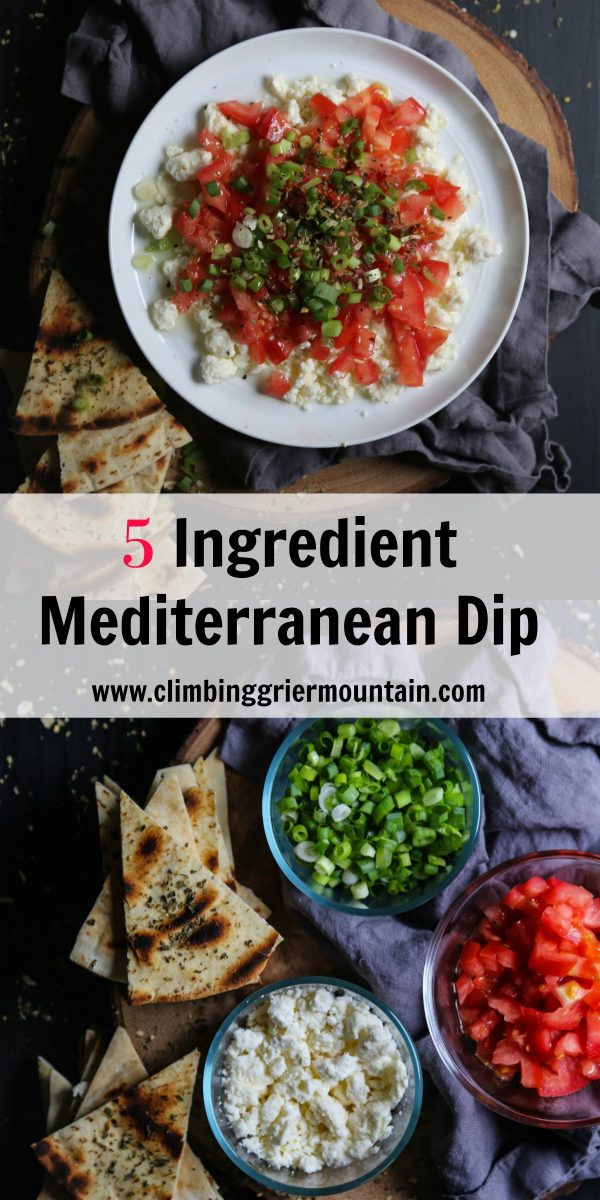 5 Ingredient Mediterranean Dip-2