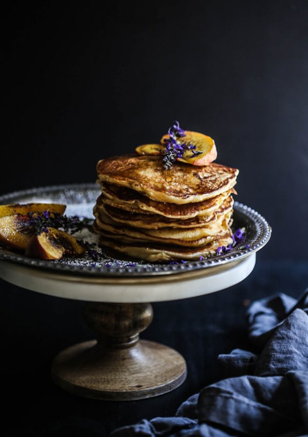 peach-bacon-pancakes-with-lavender-butter-syrup-www-climbinggriermountain-com-iii