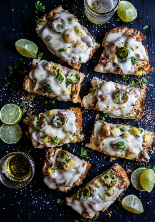 pineapple-chicken-french-breads-with-rum-cheese-sauce-www-climbinggriermountain-com