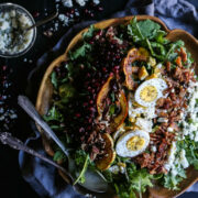 autumn-kale-and-brussel-sprout-cobb-salad-with-maple-vinaigrette-www-climbinggriermountain-com