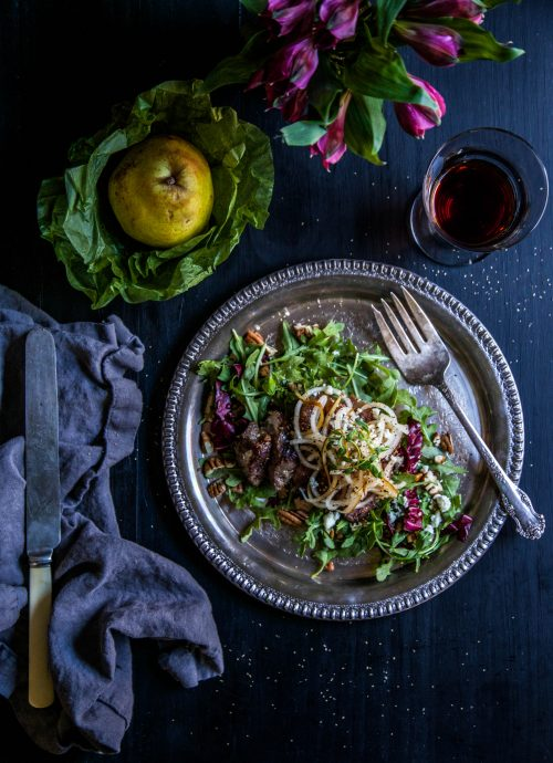 sesame-steak-salad-with-spiralized-pears-www-climbinggriermountain-com-i