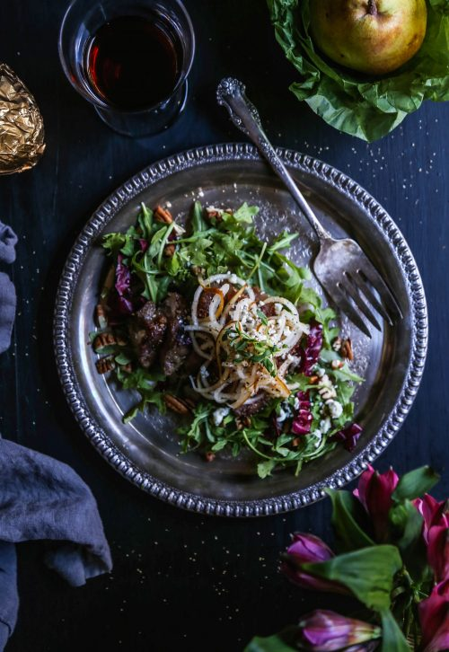 sesame-steak-salad-with-spiralized-pears-www-climbinggriermountain-com