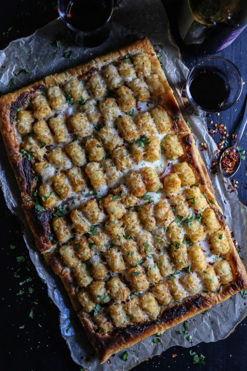 cheesy-tater-tot-topped-puff-pastry-pizza-www-climbinggriermountain-com