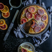 Blood Orange Ricotta Cake www.climbinggriermountain.com