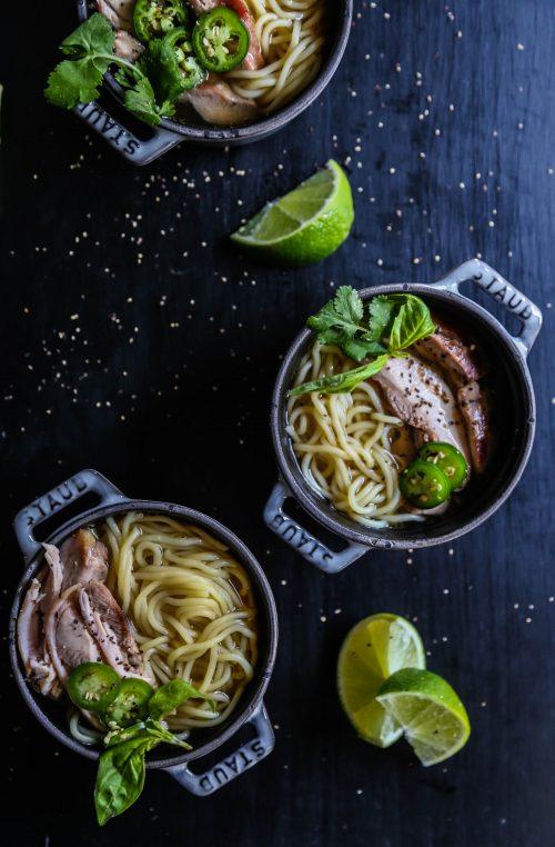 Easy Vietnamese Chicken Noodle Bowl www.climbinggriermountain.comI