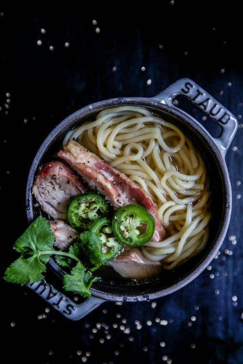 Easy Vietnamese Chicken Noodle Bowl www.climbinggriermountain.com