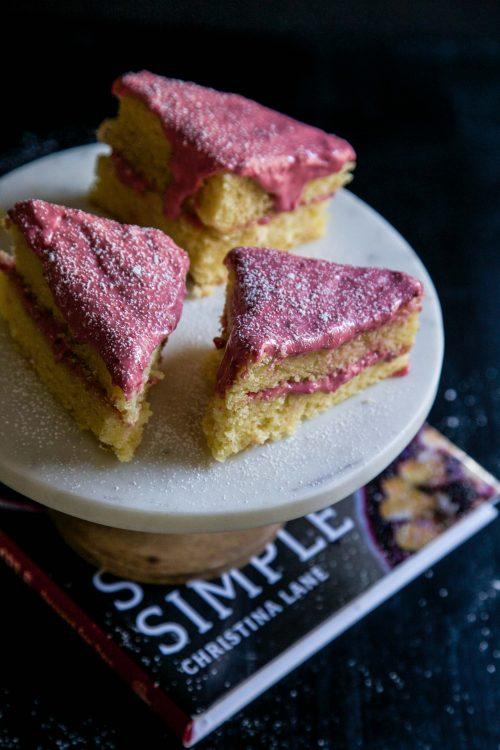 Hot Pink Raspberry Cake www.climbinggriermountain.com II
