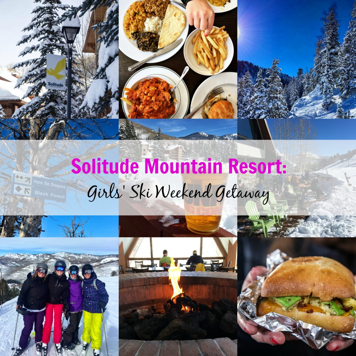 solitude mountain resort girls 39 ski weekend getaway. Black Bedroom Furniture Sets. Home Design Ideas