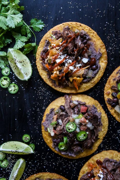 Korean bbq beef black bean chalupas climbing grier mountain okay before i forget and with tacotuesday coming at us tomorrow we need to chat about these korean bbq beef black bean chalupas forumfinder Image collections