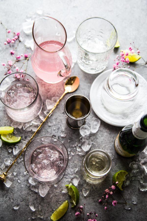 Pink Champagne Margaritas www.climbinggriermountain.com 1