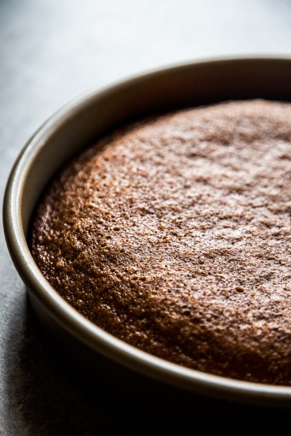 honey cake baked with no frosting