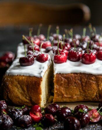 Cherry Party Cake
