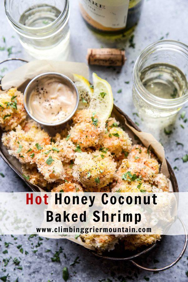 Hot Honey Coconut Baked Shrimp www.climbinggriermountain.com.jpg
